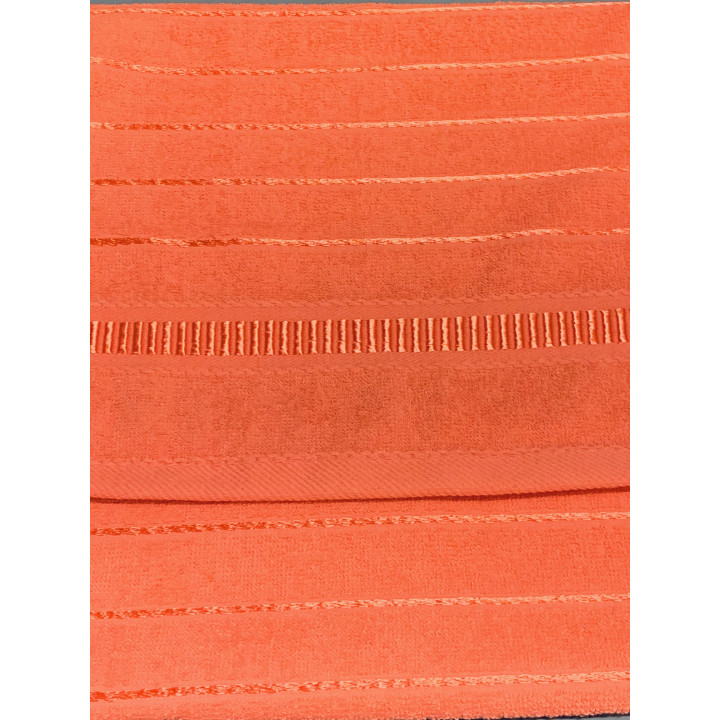 LOFT-50х90-Коралл полотенце HAPPY HOME