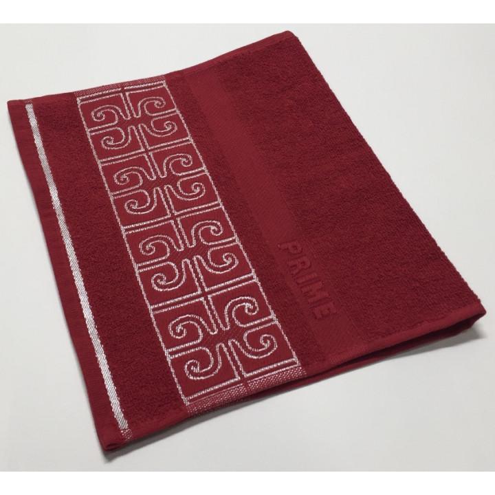 Бордо Prime 70х130 хлопок М полотенце (1шт) Фиеста