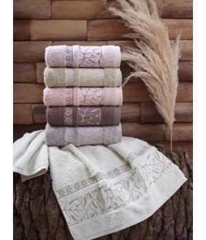 10437 HAZAN Хлопок 70х140 (6) 480гр. полотенце DO@CO Метеор