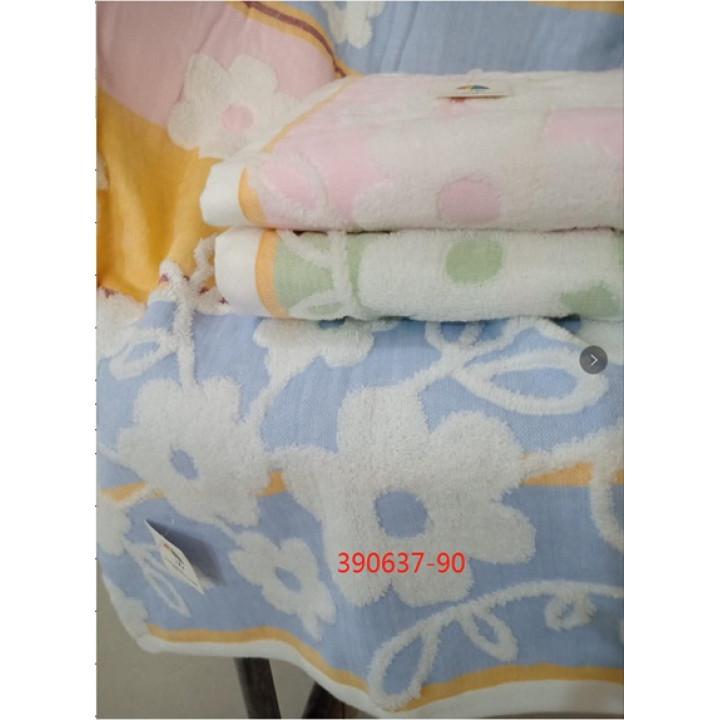 390637-90 Цветочки 70х140 (6) полотенце 7-Я