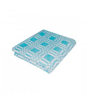 Бирюза Байковое 100х140 арт. 57-3ЕТ 90% х/б Ермолино одеяло