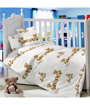 CДA-10-014/KT-79 Кубики КПБ Детский в кроватку Сатин АльВиТек