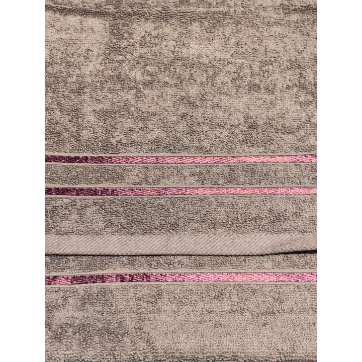 KELLY-50х90-Каштановый полотенце HAPPY HOME