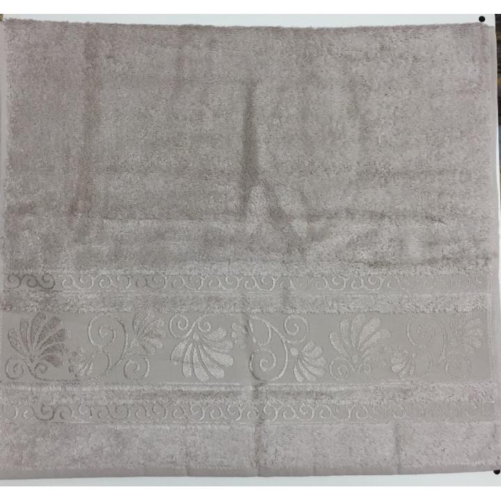 Бежевый OPRIORY 70х140 бамбук полотенце (1шт) Фиеста