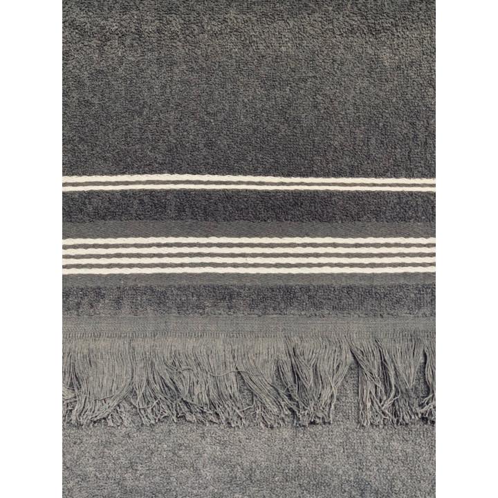 CAPRISE-30х70-Графит полотенце HAPPY HOME