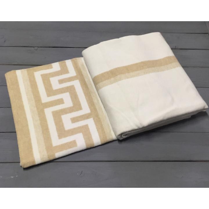 """Одеяло """"Греция"""" 170х210 бел-беж"""