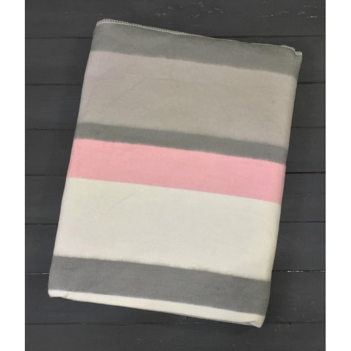 Полосы 5772ВЖК/М 205х150 100% х/б Байковое жак Ермолино одеяло