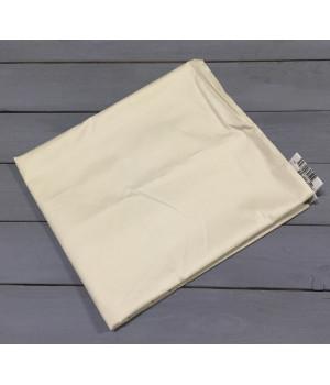 Н-С-50-КРЕМ кремовая наволочка ткань сатин 2шт.-50х70