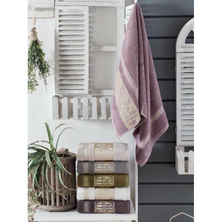 8382 Towel Бамбук 70х140 (6) 480гр полотенце TWO DOLPHINS