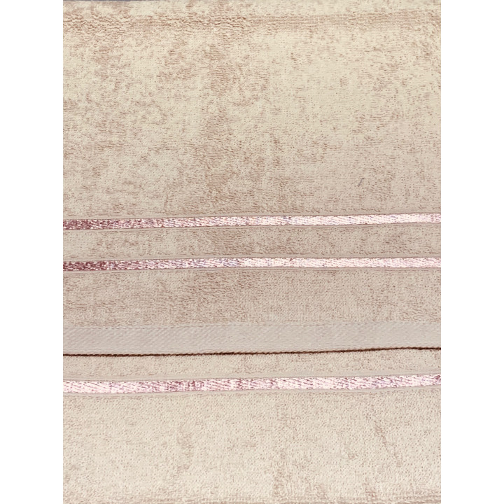 KELLY-70х130-Бежевый полотенце HAPPY HOME