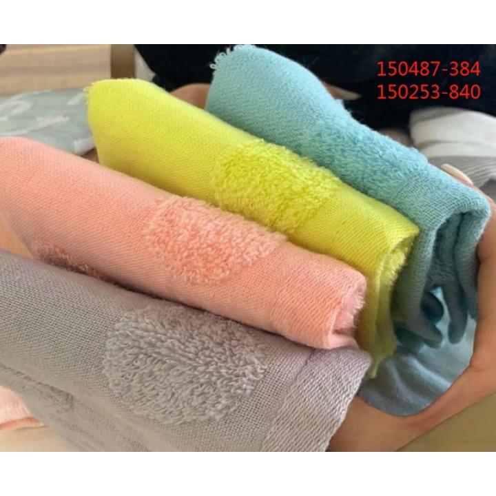 150487 Ткань-Вафля 34х75 (12) полотенце 7-Я