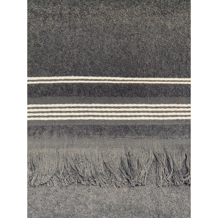 CAPRISE-50х90-Графит полотенце HAPPY HOME