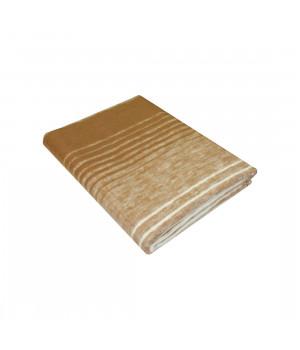 Коричневое ( Мегаполис ) Байковое жаккард 215х150 100% х/б арт. 5772ВЖК Ермолино одеяло