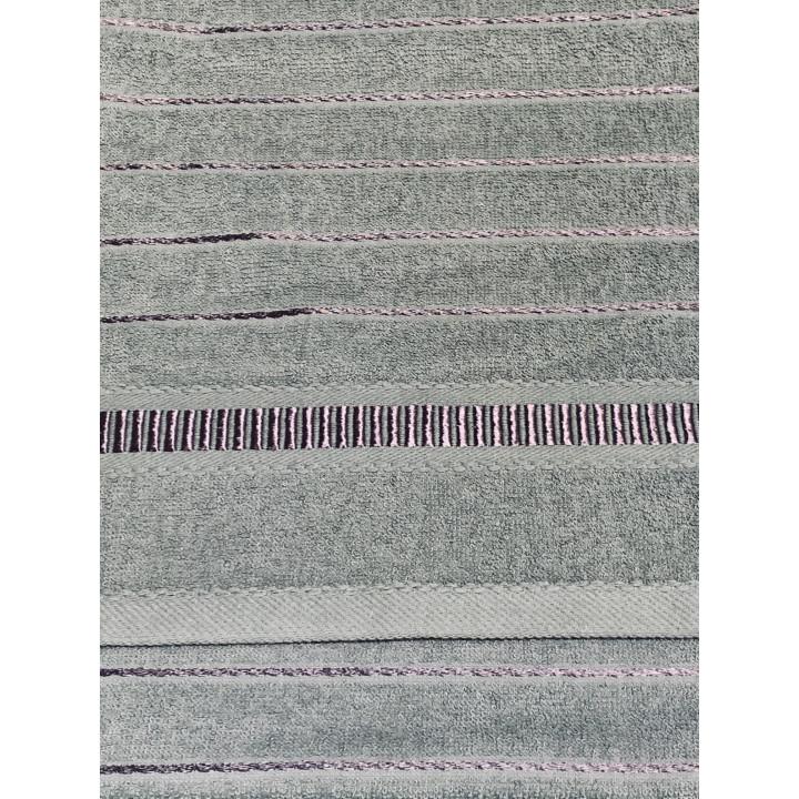 LOFT-70х130-Нефрит полотенце HAPPY HOME