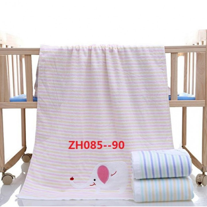 ZH085 Розовая МТ Слон 110х110 Простыня 7-Я
