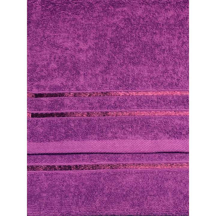 KELLY-50х90-Слива полотенце HAPPY HOME