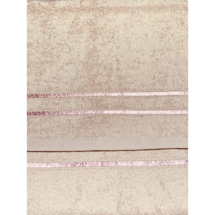 KELLY-30х70-Бежевый полотенце HAPPY HOME